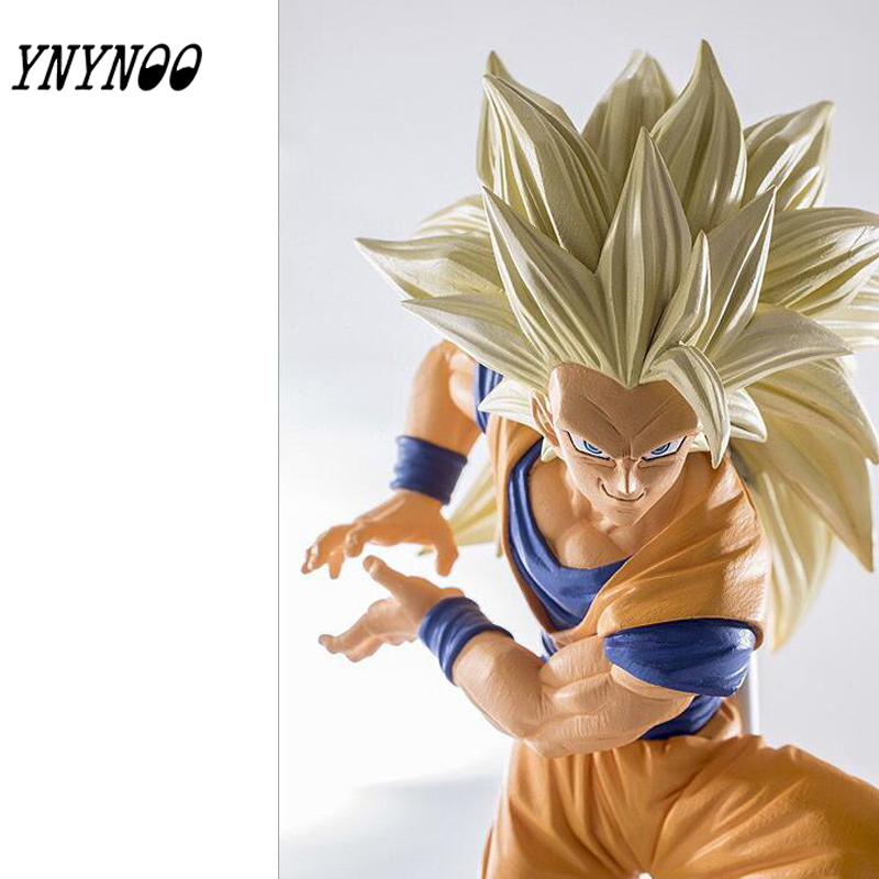 (YNYNOO) BANPRESTO MSP Dragon Ball Z Vegeta Rakam Süper Saiyan Prens Vegeta 20 CM Dragon Ball Z Kai Tahsil Model Oyuncak Figura