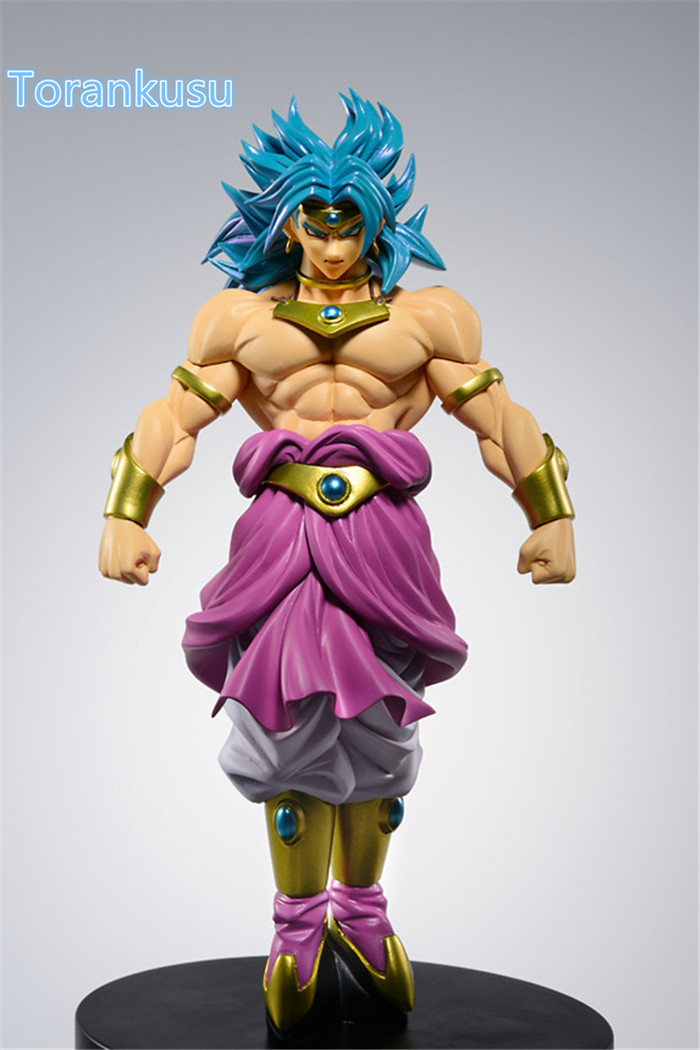 Dragon Ball Z Action Figure Broly SCultures Büyük 160mm Orijinal Banpresto Broli DBZ Super Saiyan Modeli Oyuncak SC701